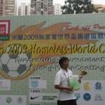 Kick-Off Poverty: Hong Kong's Road to Milan 2009 Homeless World Cup