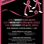 Kicking Out Cancer: I Can Serve Foundation Football Invitational