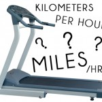 Treadmill Settings: Kilometer and Miles per hour Settings